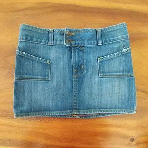Von Dutch Denim mini skirt